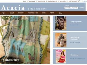 Acacia Catalog website