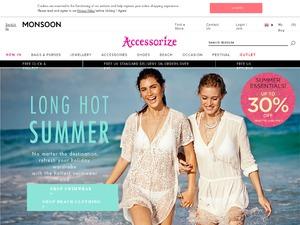 Accessorize website