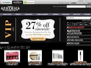 Apothica website