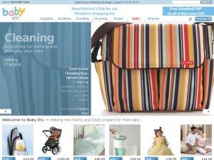 Baby Etc website