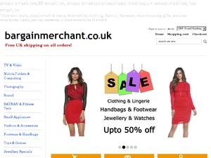 BargainMerchant website
