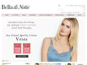 Bella di Notte website