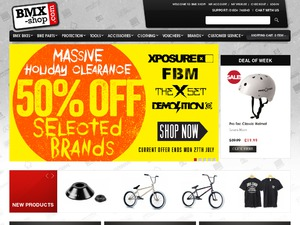 BMX Shop website