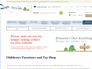 Born To Toddle website