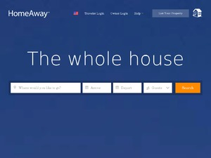Owners Direct Holiday Rentals website