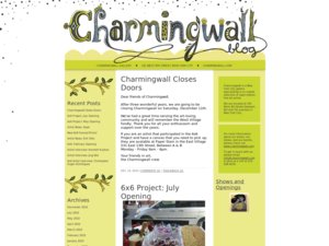 Charmingwall website