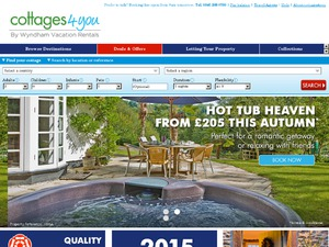 Cottages4You website
