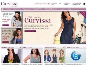 Curvissa.co.uk website
