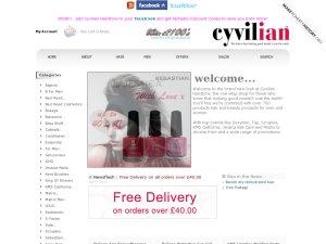 Cyvilian website