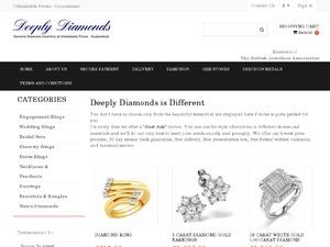 Deeply Diamonds website