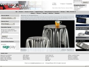 Design2Please website