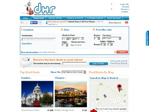 DHR website