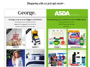 Asda George website