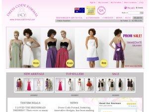 Dress Code Formal website