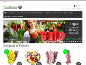 Eden4flowers website