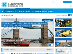 exhilaration website