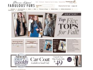 Fabulous Furs website