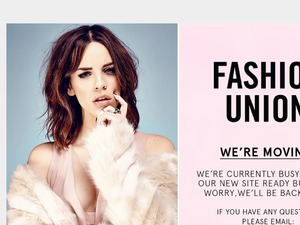 Fashion Union website