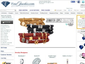 Fine Jewelers website