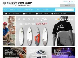 Freezeproshop website
