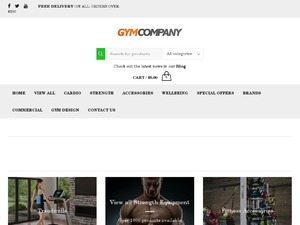GymCompany website