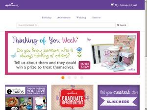 Hallmark website