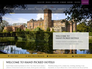 Handpicked Hotels website