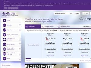 Heathrow Airport Parking website