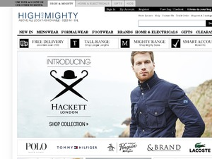 High and Mighty website