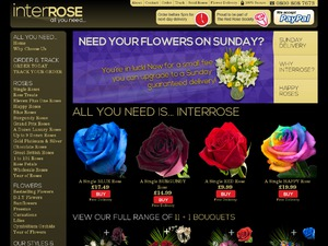 InterRose website