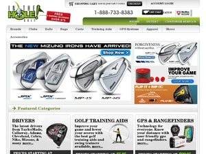 InTheHoleGolf website
