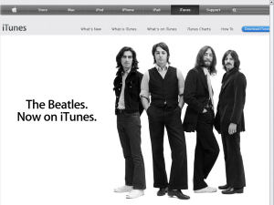 iTunes website