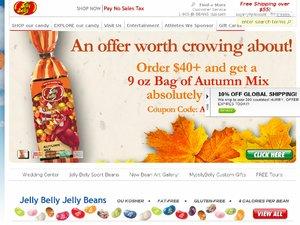Jelly Belly Candy Company website