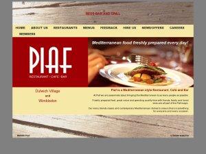Piaf website