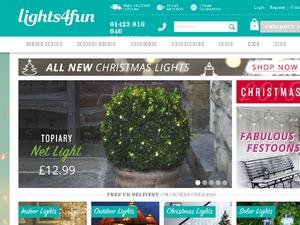 Lights4Fun website