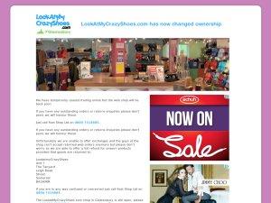 LookAtMyCrazyShoes website