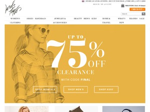 Lord & Taylor website
