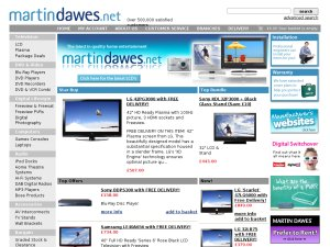 Martin Dawes website