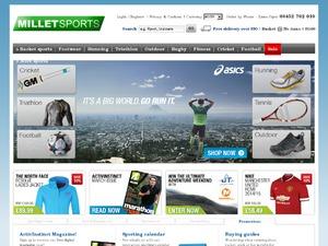 Millet Sports website