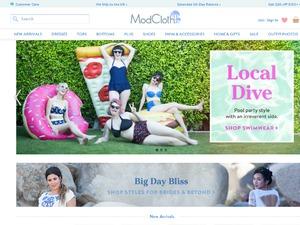 ModCloth.com website