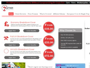 2Gether Motor Breakdown website