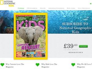 National Georgraphic Kids Magazine website