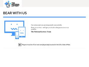 National Lottery website