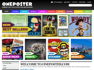 One Poster website
