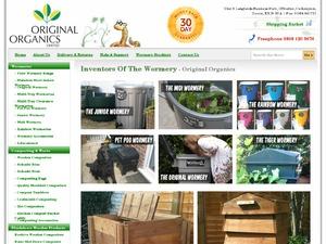 Original Organics website