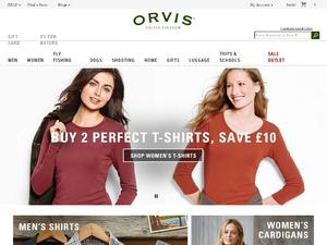 Orvis website