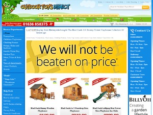 Outdoor Toys Direct website