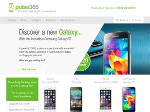 Pulse 365 website