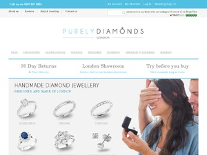 Purely Diamonds website