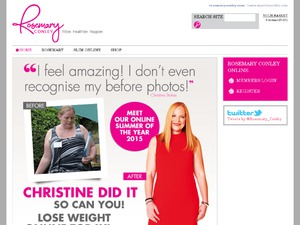 Rosemary Conley Online website